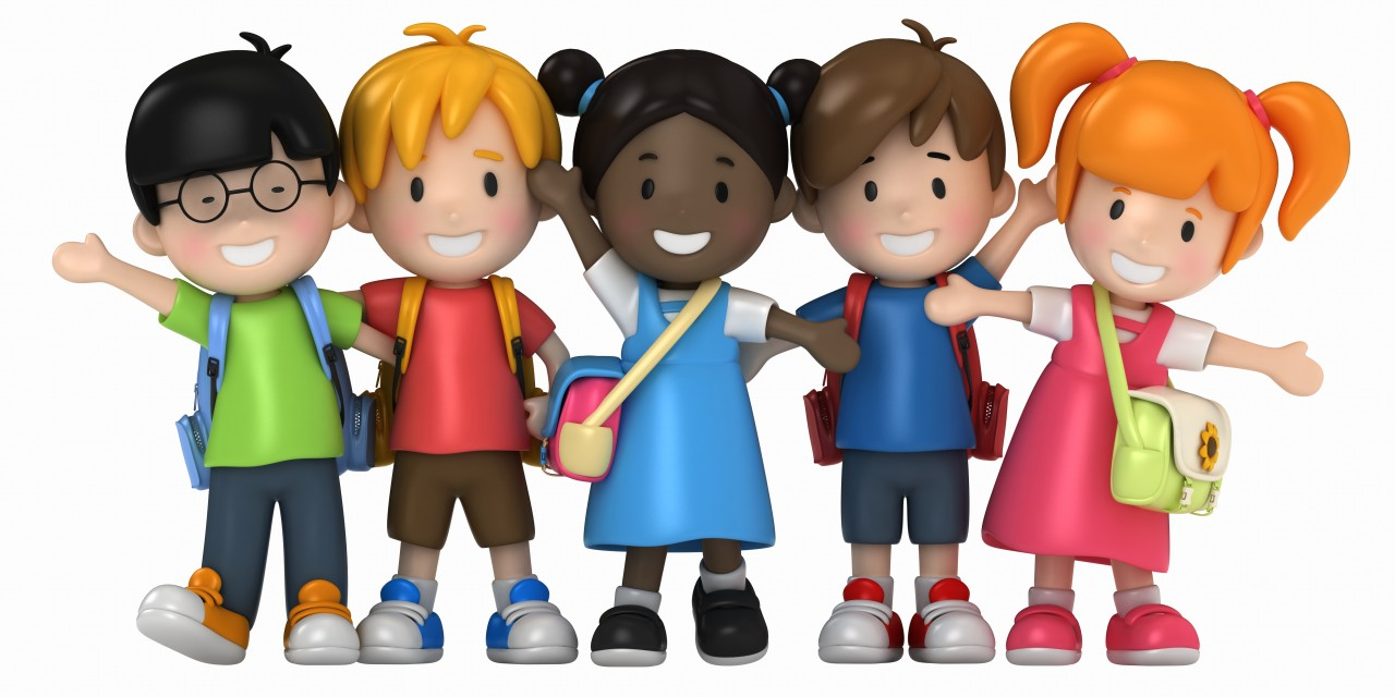 Image result for cartoon picture of children in school